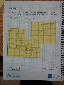 Another page from Team A's engineering notebook.